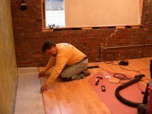 dphilms studio new floor